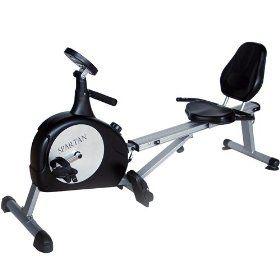 Spartan Sports 2 In 1 Recumbent Bike Rower Rowing Machine Rowing Machines Recumbent Bike Workout Exercise Bikes Spartan Sports