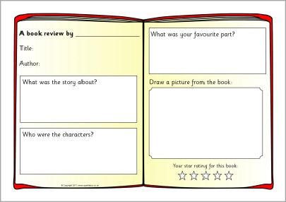 review writing format