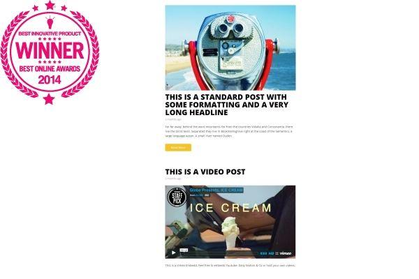 Best Innovative Product - Hipster   Best Minimalist WordPress Themes ...