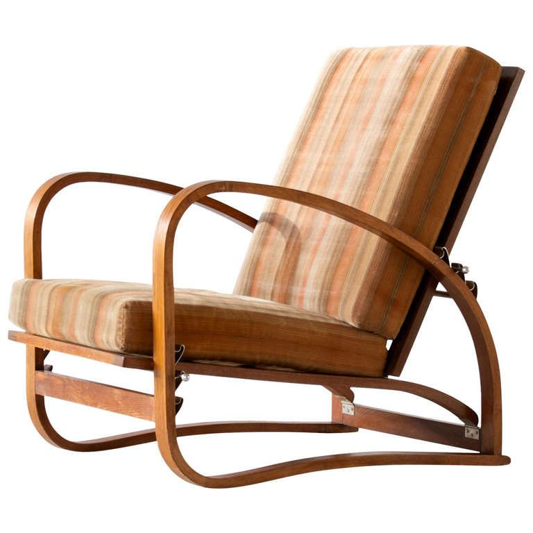 H-70 armchair from Jindrich Halabala for Spojene UP Zavody ca.1929