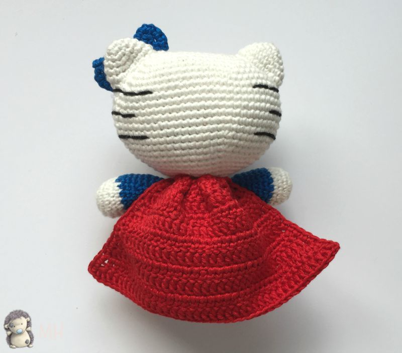 Amigurumi kitty super woman   crochet idea   Pinterest   Nieve, Lana ...