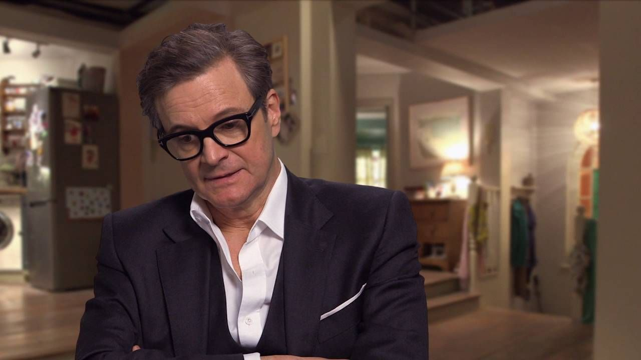video bridget jones s baby colin firth on set interview video bridget jones s baby 2016 colin firth on set interview