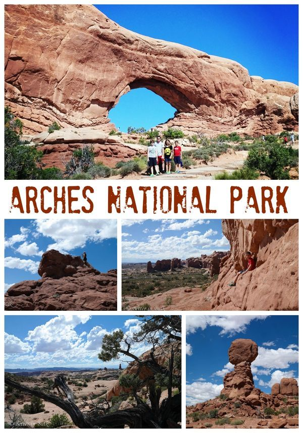 Arches National Park in Utah - one of the most beautiful places to visit in the world! A great place for family vacation!