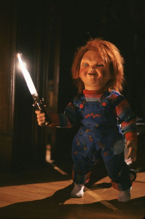 Child's Play 3 (1991) Chucky's got them Thicc legs | Chucky movies ...