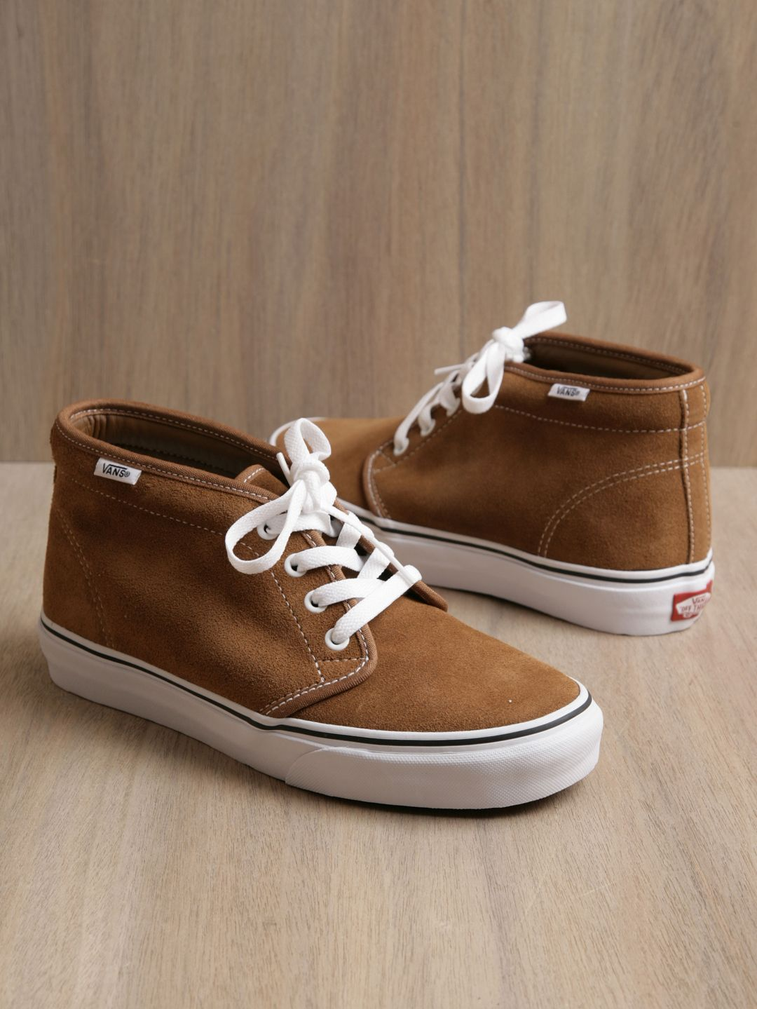 d08fcef5f6e Vans tan suede chukka boot. I would change the laces to match the ...