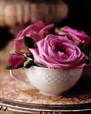 Garden Blooms in Pink