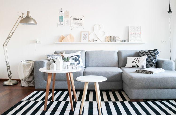 Interieur inspiratie: 18 prachtige Scandinavische woonkamers. Doe ...