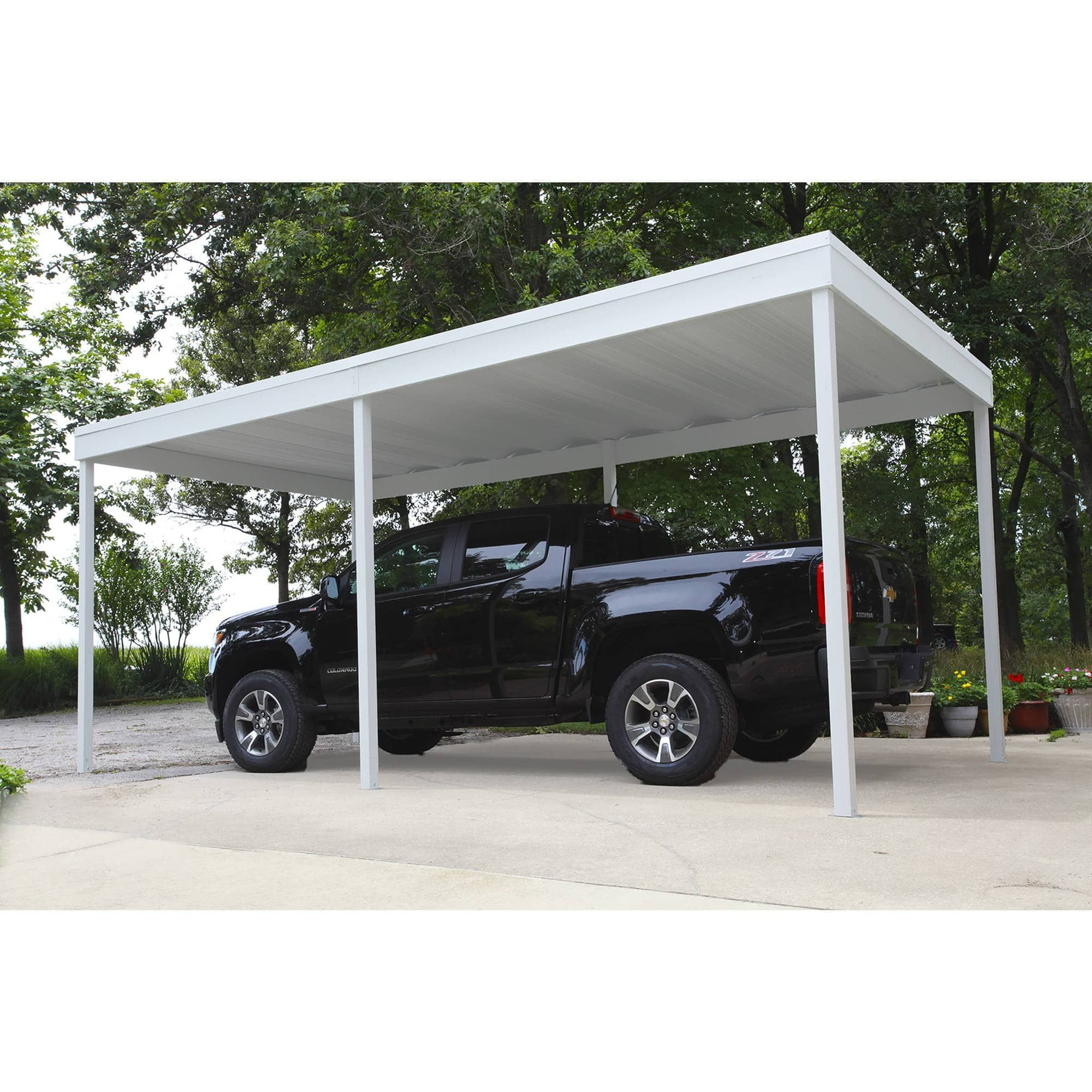 Arrow Shed Free Standing Car Port, 10' Wide x 10' Long