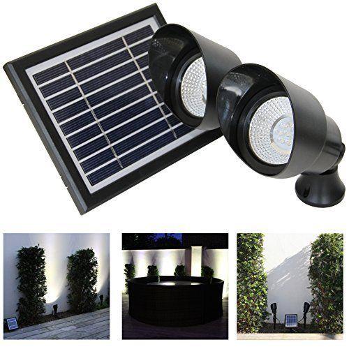 48 LED Solar Licht Solarlampe mit Bewegungsmelder Solarleuchte Außenbeleuchtung