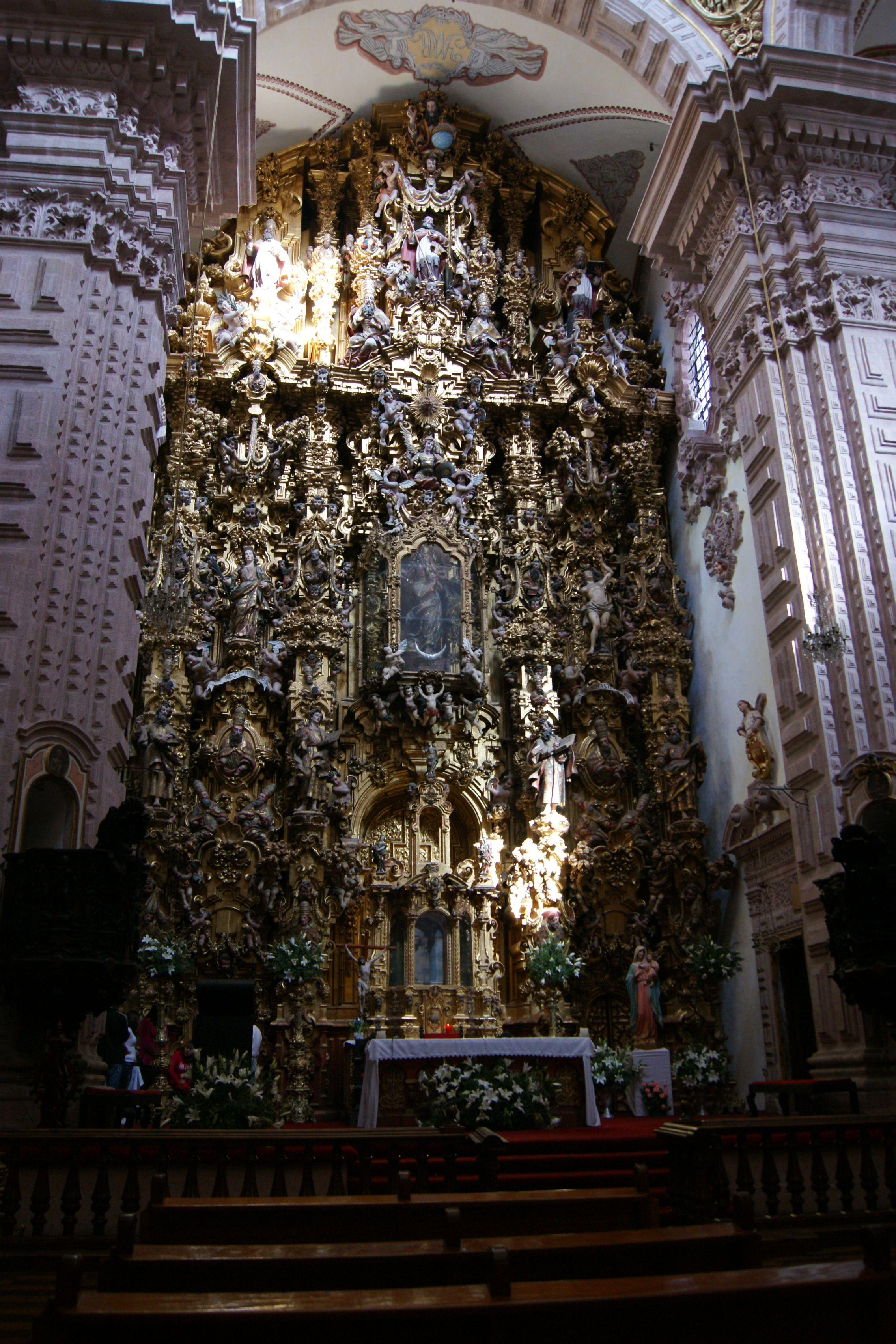 Retablo del altar mayor de santa prisca en taxco de alarc n guerrero m xico