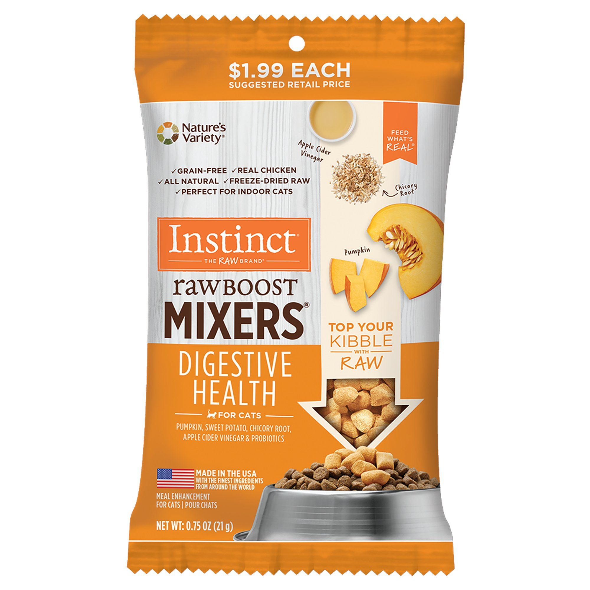 Instinct Freeze Dried Raw Boost Mixers Grain Free