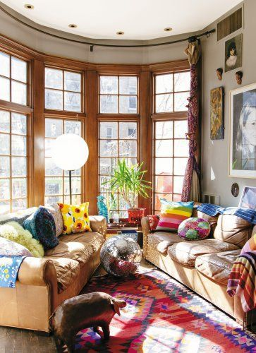 Boho Queen Justina Blakeney Schools Us On Small Nyc Apartment Design Brickunderground
