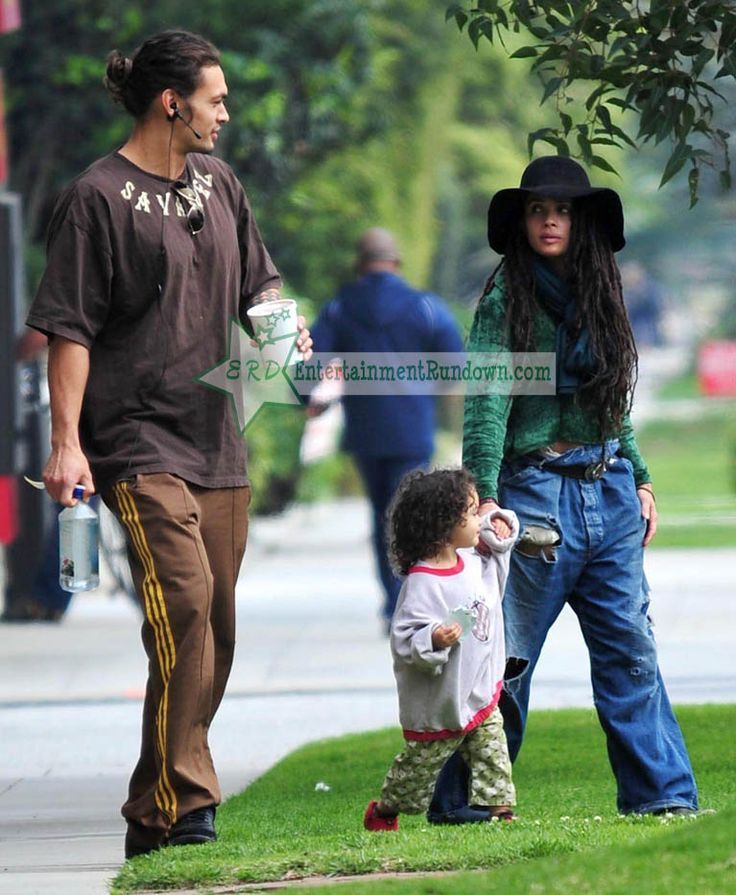 Jason Momoa Takes A Stroll With His Kids: Image Result For Jason Momoa And Lisa Bonet Children