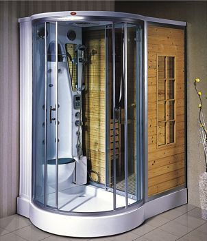 Love This Steam Shower Sauna Combo Www Steamshowersinc Com