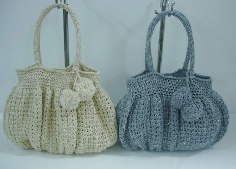 Free Crochet Patterns Purses Handbags : Crochet Bag Patterns - Free Patterns for Womens Crocheted ...