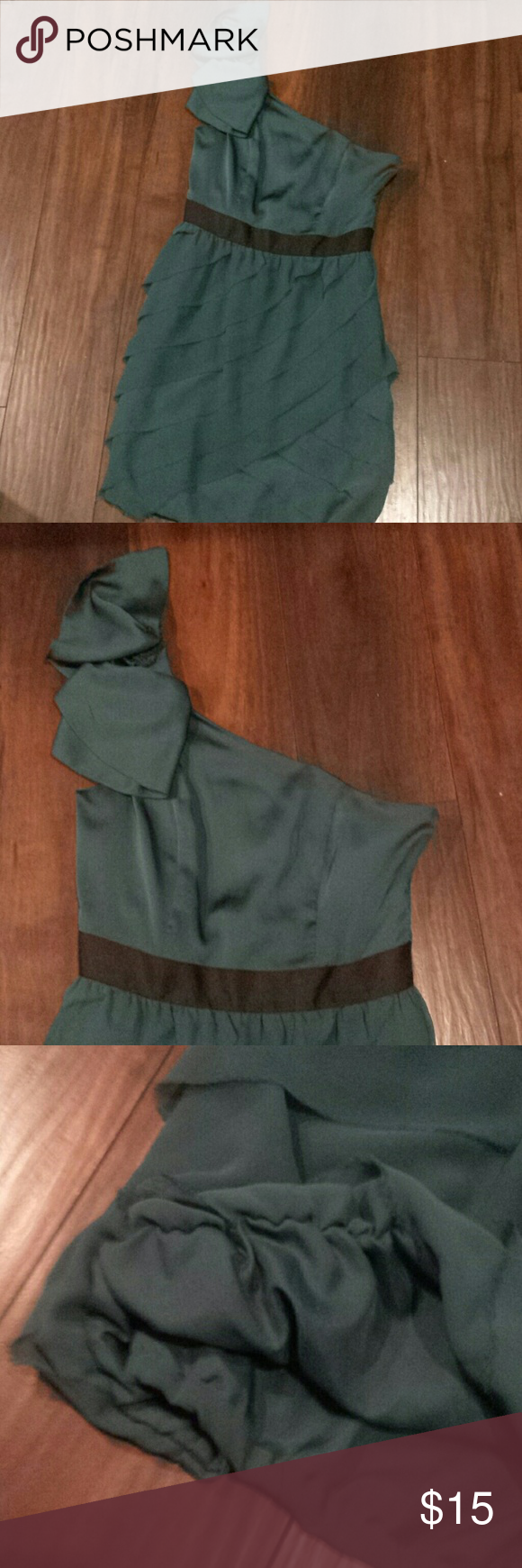 Green dress one shoulder  Lauren Conroe Green one shoulder dress  My Posh Picks  Pinterest