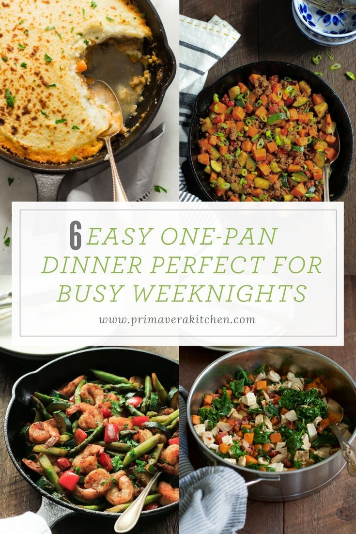 6 easy one pan dinner perfect for busy weeknights breeze veggies