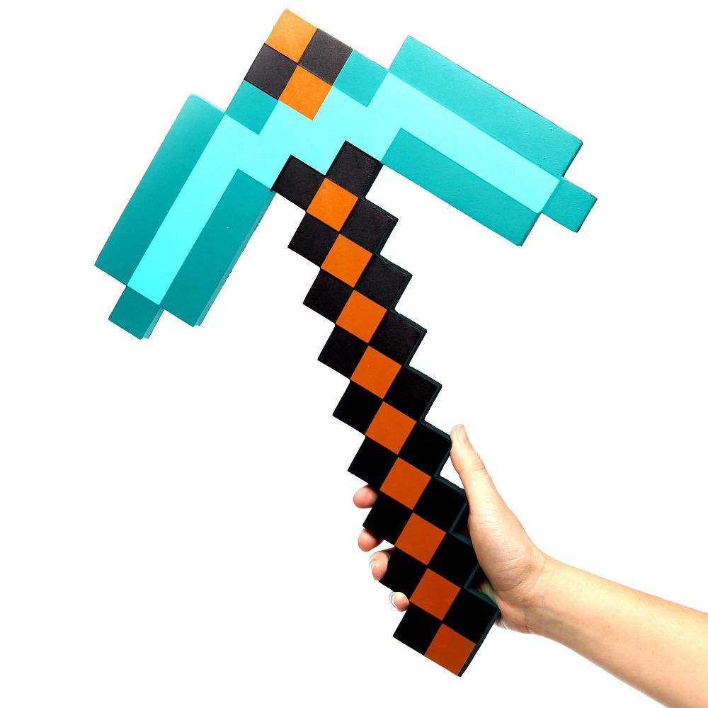 Minecraft toys sword and axe UNBOXING no bad words - YouTube