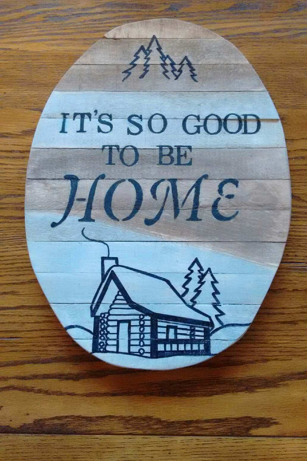 Pallet wood signs with meaningful sayings | Wood pallet ...