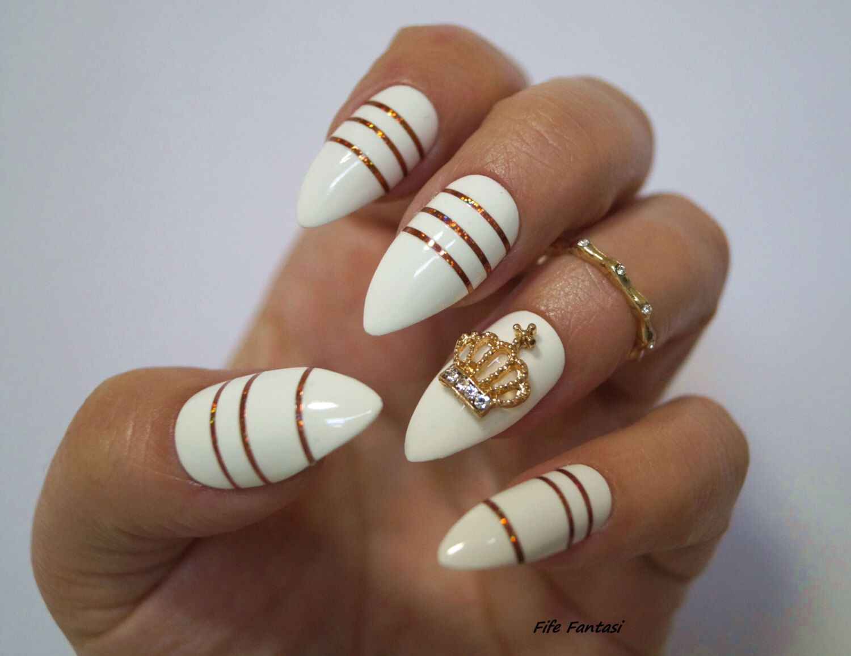 White stiletto nails nail art fake nails stiletto nails kylie white stiletto nails nail art fake nails stiletto nails kylie jenner prinsesfo Image collections