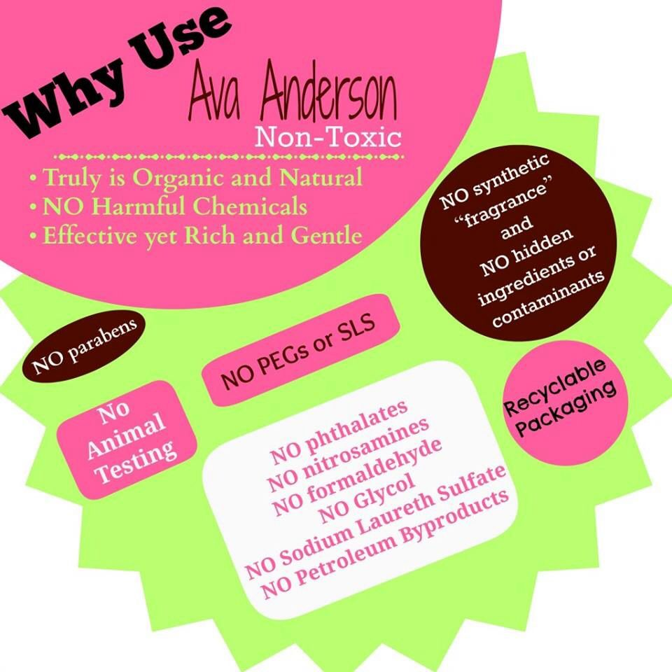 Ava Anderson Non Toxic products are amazing ! www