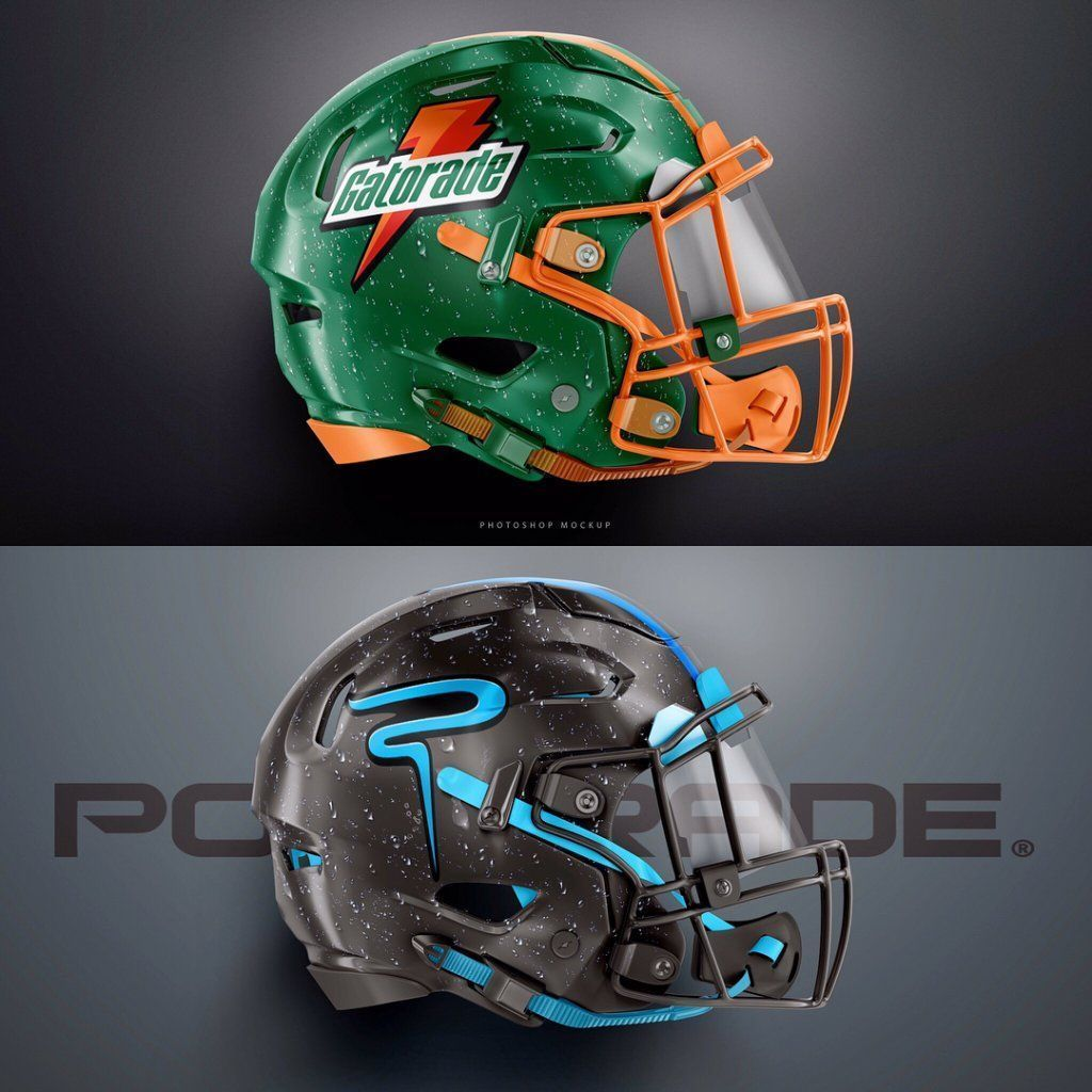 we love these 2 helmet designs created by ah fx using our templates