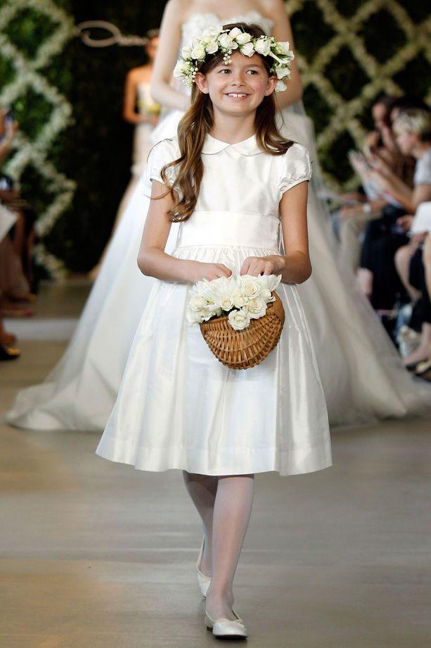 pretty nice d3379 624ce Vestiti per paggetti e piccole damigelle | Abitino bianco De ...