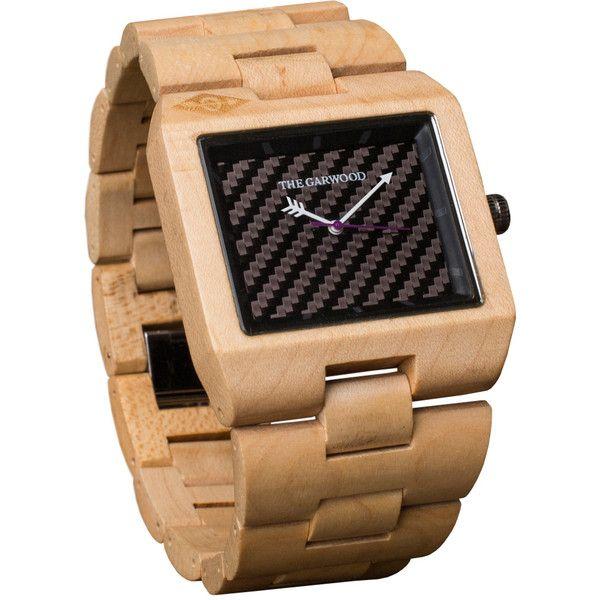 The Garwood 35 Black Wood Watch $149