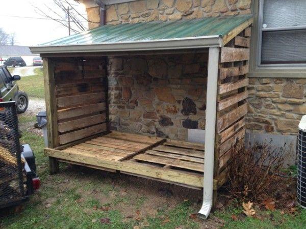 Diy Lean To Wood Shed Wood Shed Diy Shed Pallet Shed