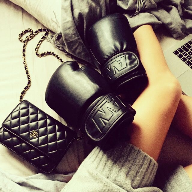 Alexander wang x h&m ,chanel bag