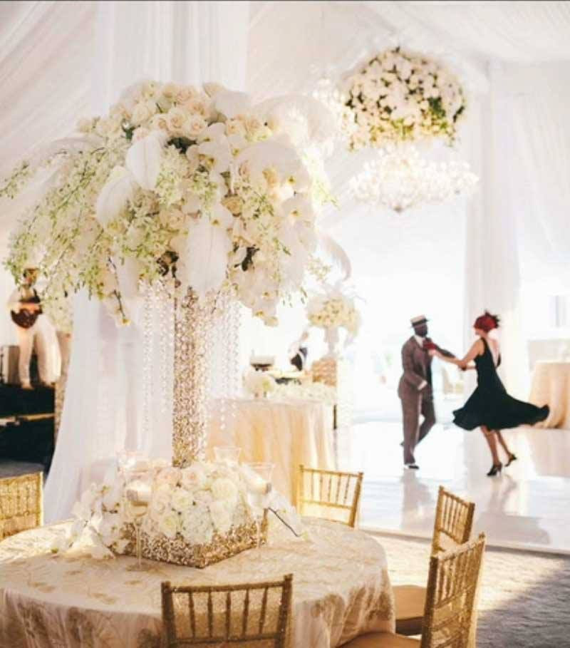 Pin By Karen Crawn On Home Decor: Great Gatsby Inspired Florals By Karen Tran