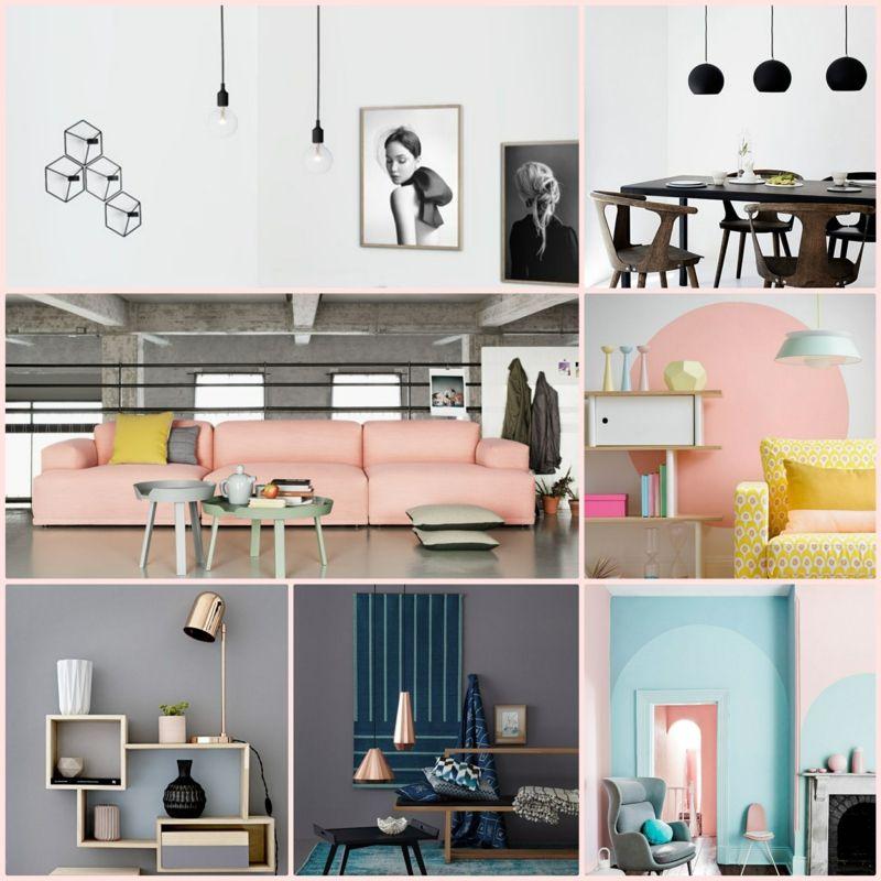 2016 Wohntrends - aktuelle Farben und Wohnungseinrichtung Ideen - wohnungseinrichtung inspiration
