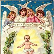 Vintage ukrainian christmas cards vintage post card christmas vintage ukrainian christmas cards vintage post card christmas greetings angel wbell and verse m4hsunfo