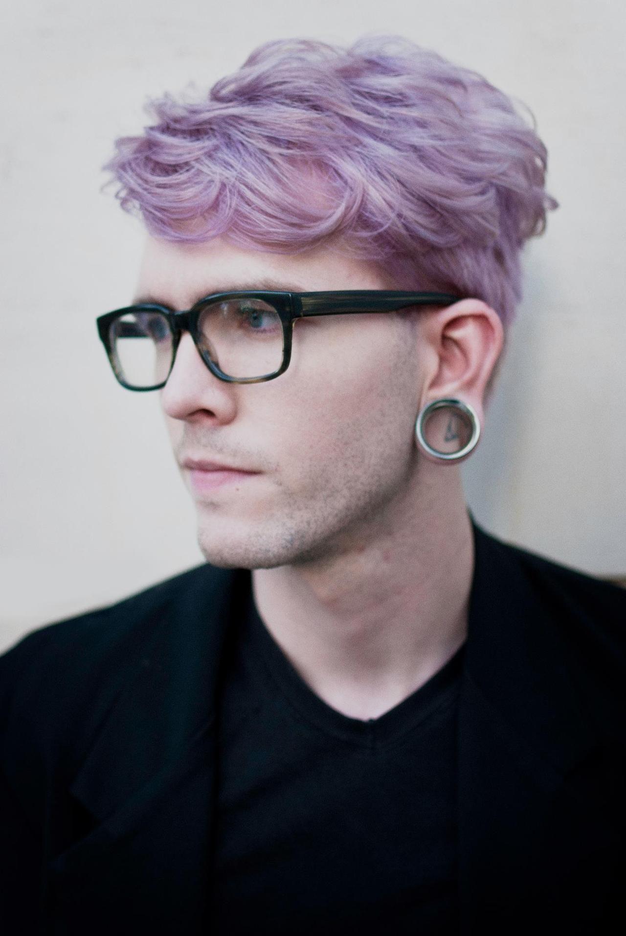 Dye Man Color Short Hair Hair