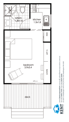 Studio Granny Flat Floor Plans