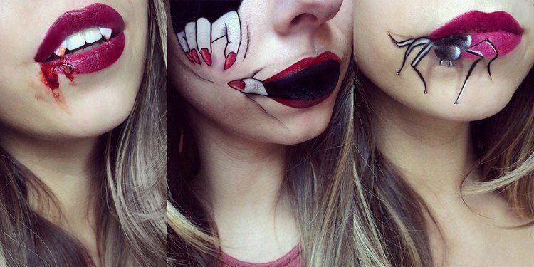 Idées faciles de déguisement Halloween femme de dernière minute   Halloween   Maquillage ...