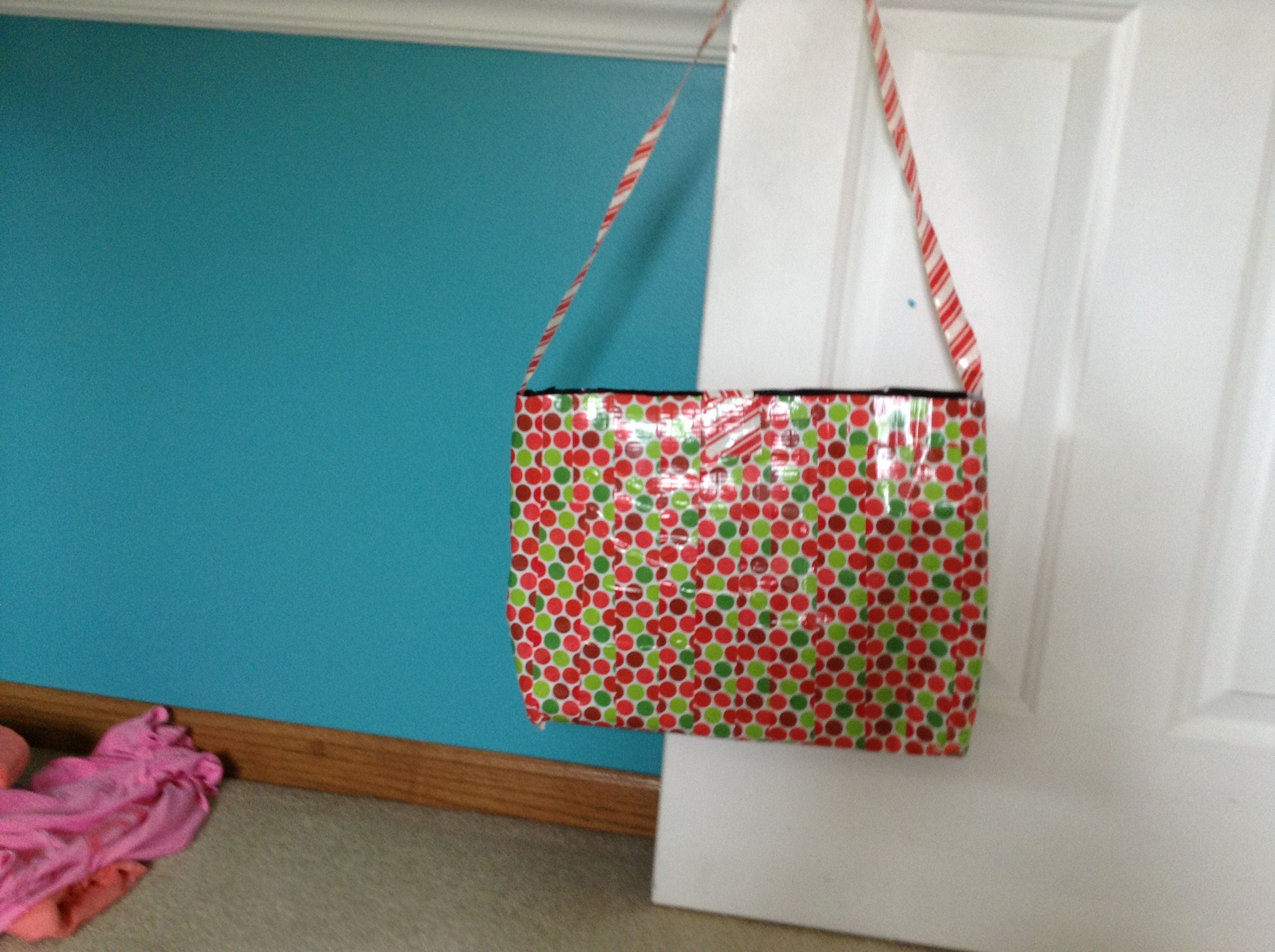 Huge Ductape Holiday Bag Made By Yours Truly Holiday Bagsyours