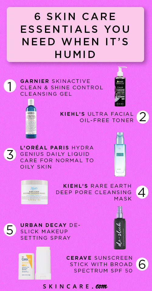 Skin Care Essentials For Humid Weather Skincare Com By L Oreal Skin Care Essentials Skin Care Favorite Skincare Products