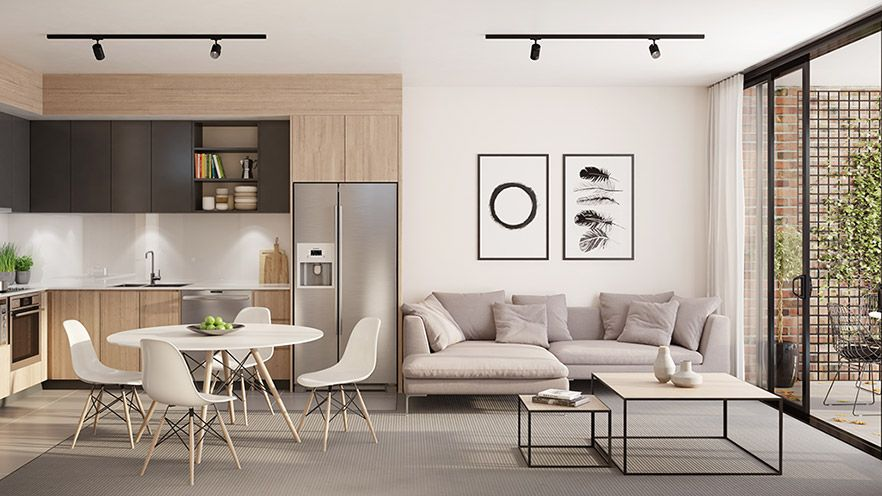 Renders 3d For Master Bedroom Project: Kitchen Artist Impression 3D Render