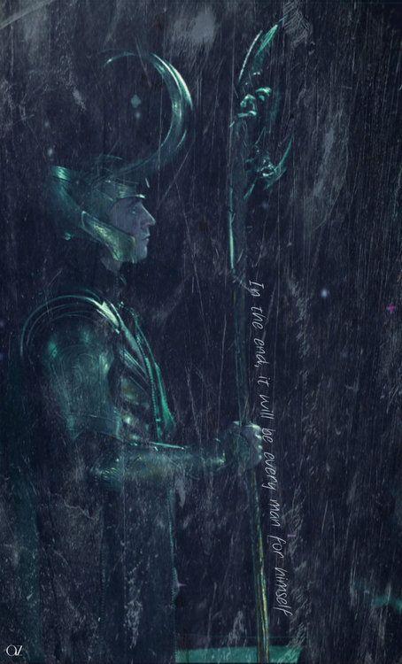 Alone.. Loki.