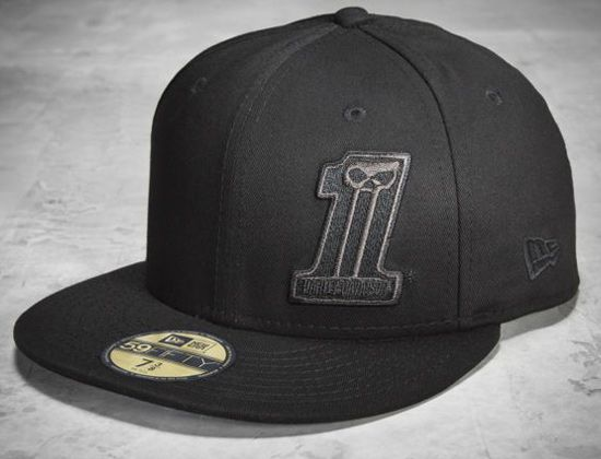 HARLEY-DAVIDSON x NEW ERA「 1」59Fifty Fitted Baseball Cap ... 6aaa5207046