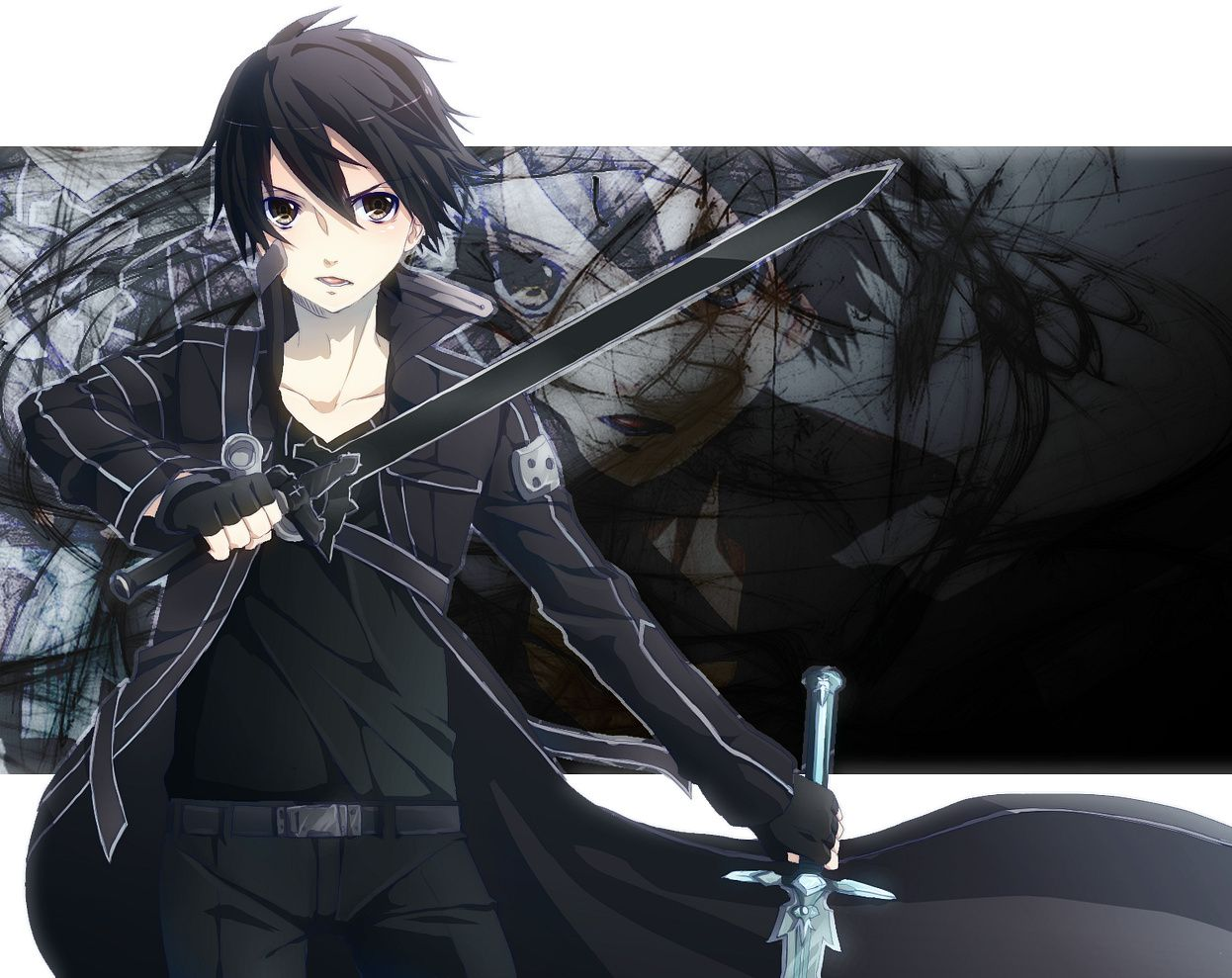 Google chrome themes quotes - Sword Art Online Funny Sword Art Google Chrome Theme