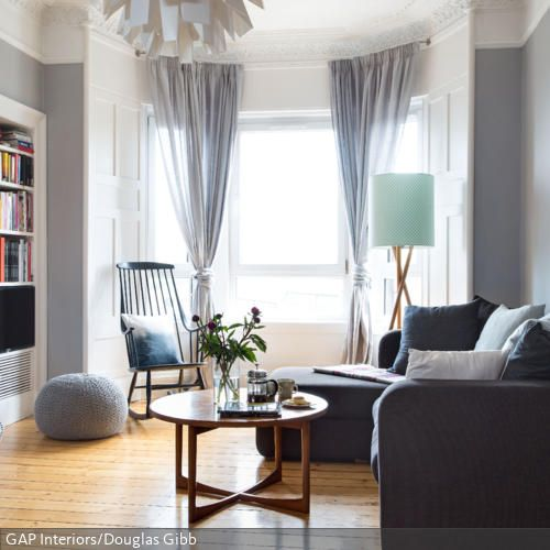Runder Couchtisch aus Holz Interiors, Interior design - gemtliche ecksofas
