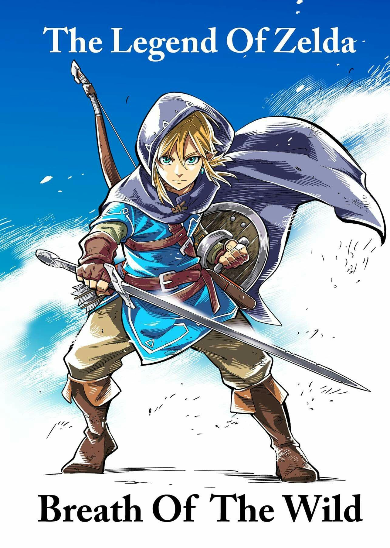 """I love  The Legend of Zelda  Breath of The Wild  I played on the Nintendo Switch  version.  n.n i'm likely  to finish  it  in May what  a """"Breath taking adventure!"""" I cannot wait for the DLC Expansion Pass"""