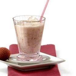 Milkshake met lychees
