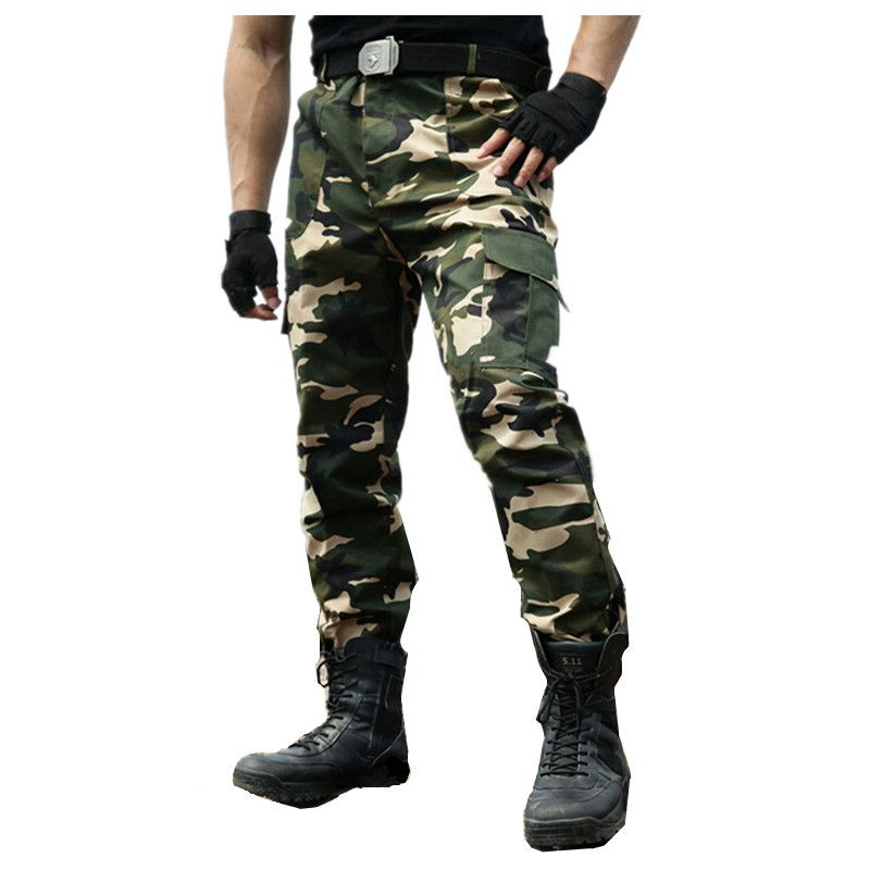 1e8315b2f96 Autumn New Men s cargo Pants Military clothing Tactical Pant army green  knee pads Camouflage army style camo workwear Trousers  Affiliate