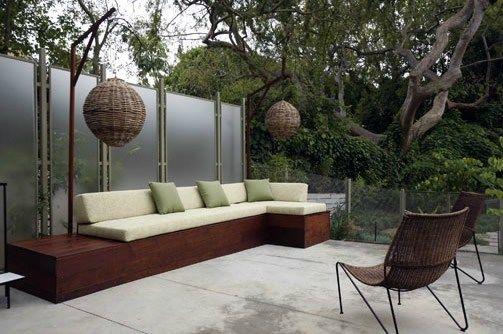 Good Built In Patio Seating Patio Mark Tessier Landscape Architecture Santa  Monica, ...