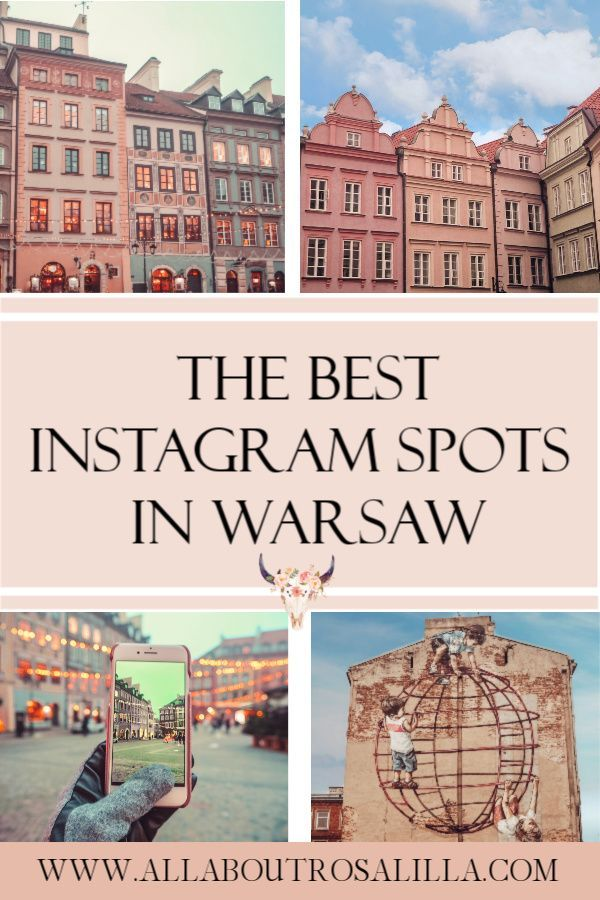 Your guide on the best Instagram spots in Warsaw. Read more on www.allaboutrosalilla.com