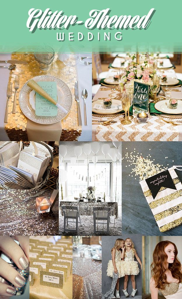 12 Awesome Formal Traditional: 12 Legitimately Awesome Nontraditional Wedding Themes