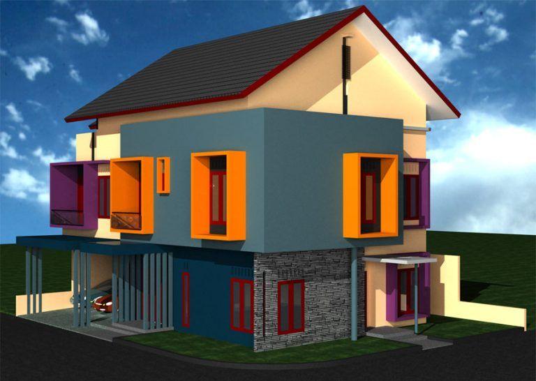 40 Gambar Rumah Idaman Minimalis Sederhana Terbaru 15 Di 2020